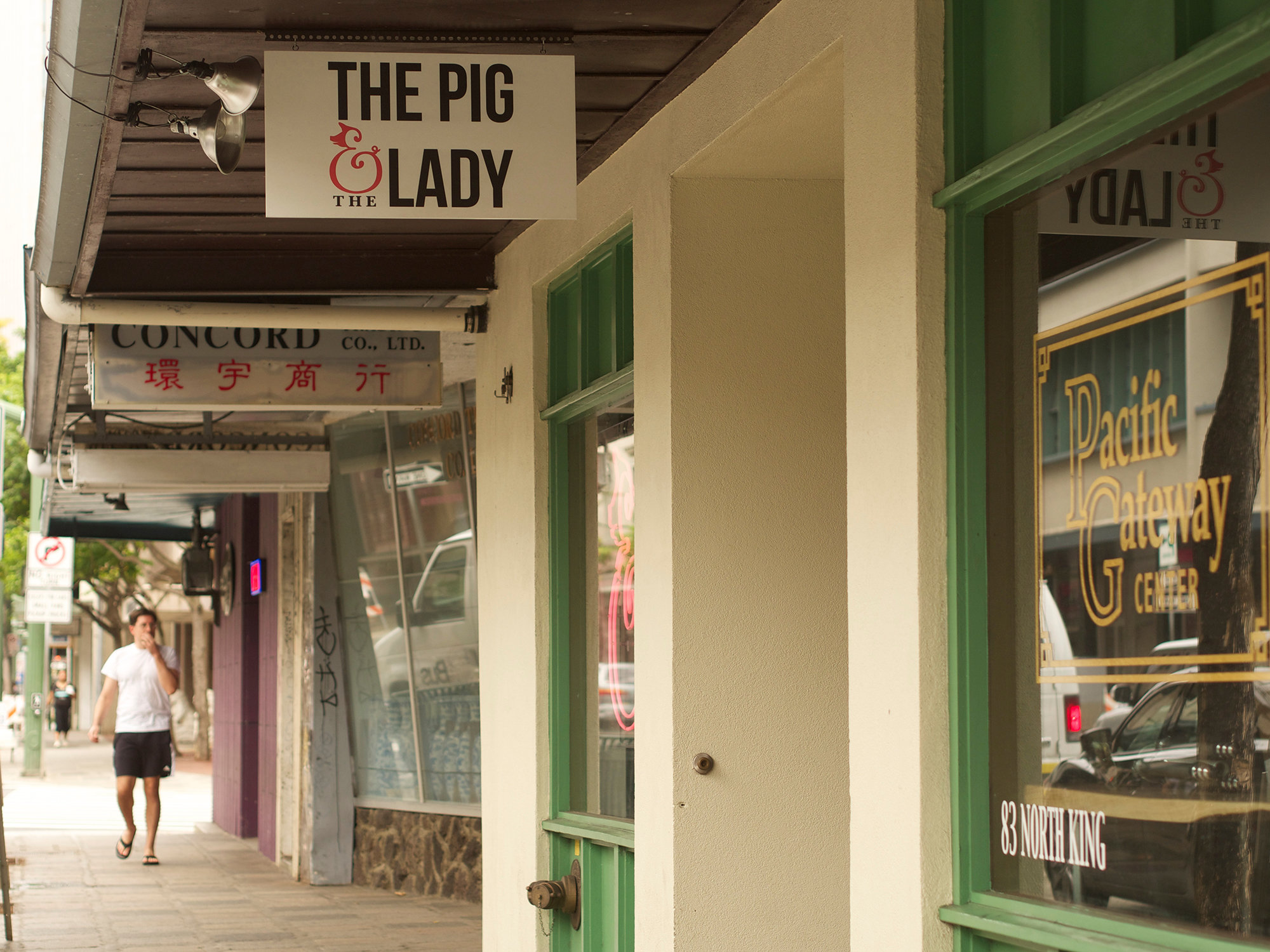Andrew Le's Pig & The Lady is located in Downtown Honolulu.